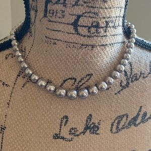 Authentic Tiffany and Co. Ball Necklace